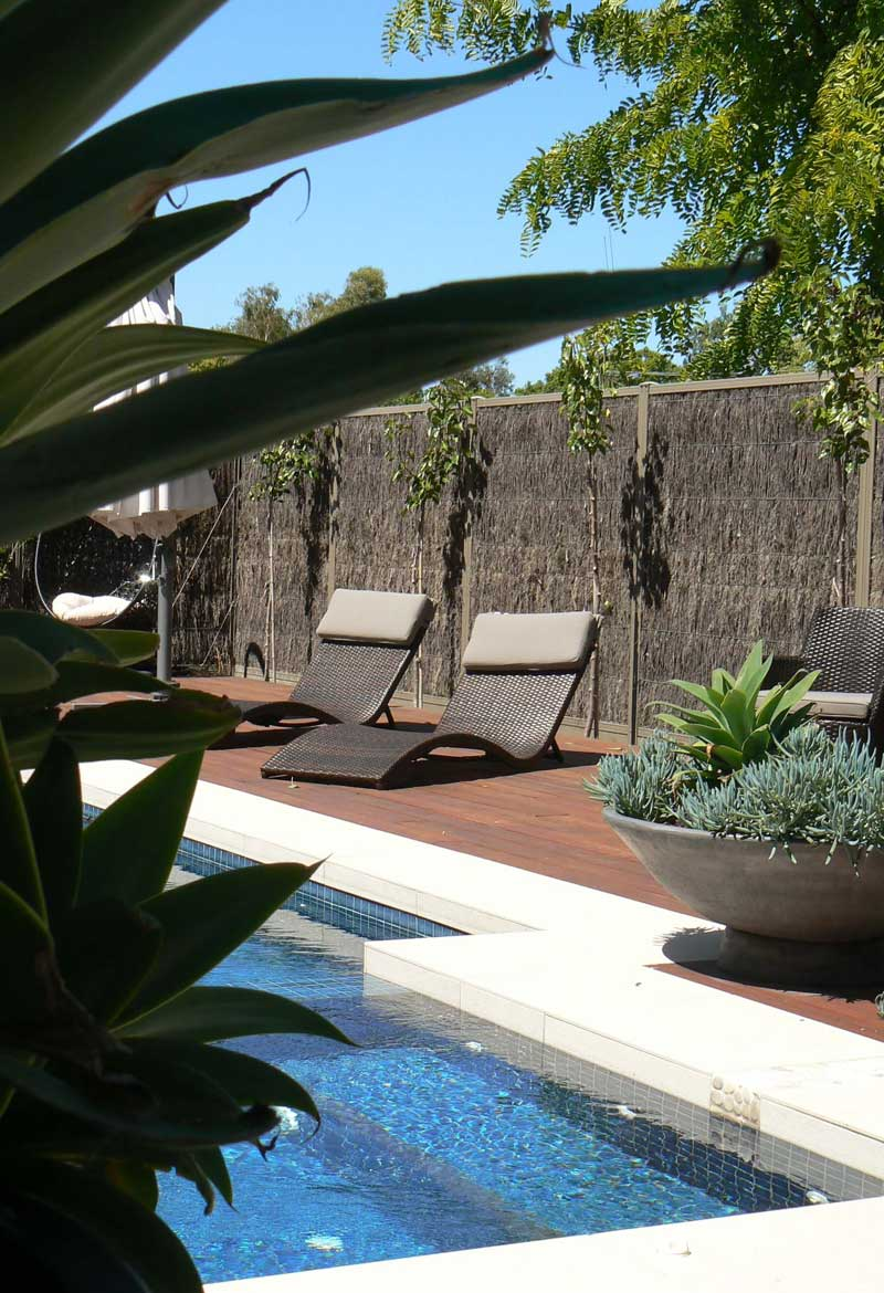 Poolside Gardens Woven Earth Landscapes